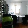 Heute ist hier unser Arbeitszimmer.